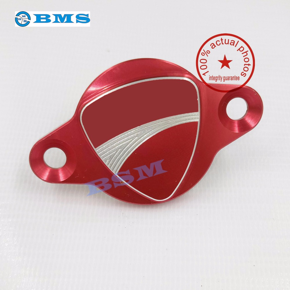 Motocycle Accessories For DUCATI MONSTER 821 1200/S Alterrnator Cove Red<br><br>Aliexpress