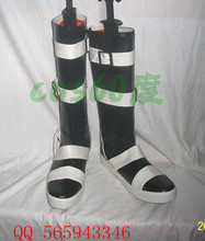 Soul Eater Maka Leather Foam Cosplay Shoes S008(China)