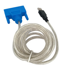 USB to PRINTER DB25 25-Pin Parallel Port Cable Adapter New Jul11 Professional Factory Price Drop Shipping(China)