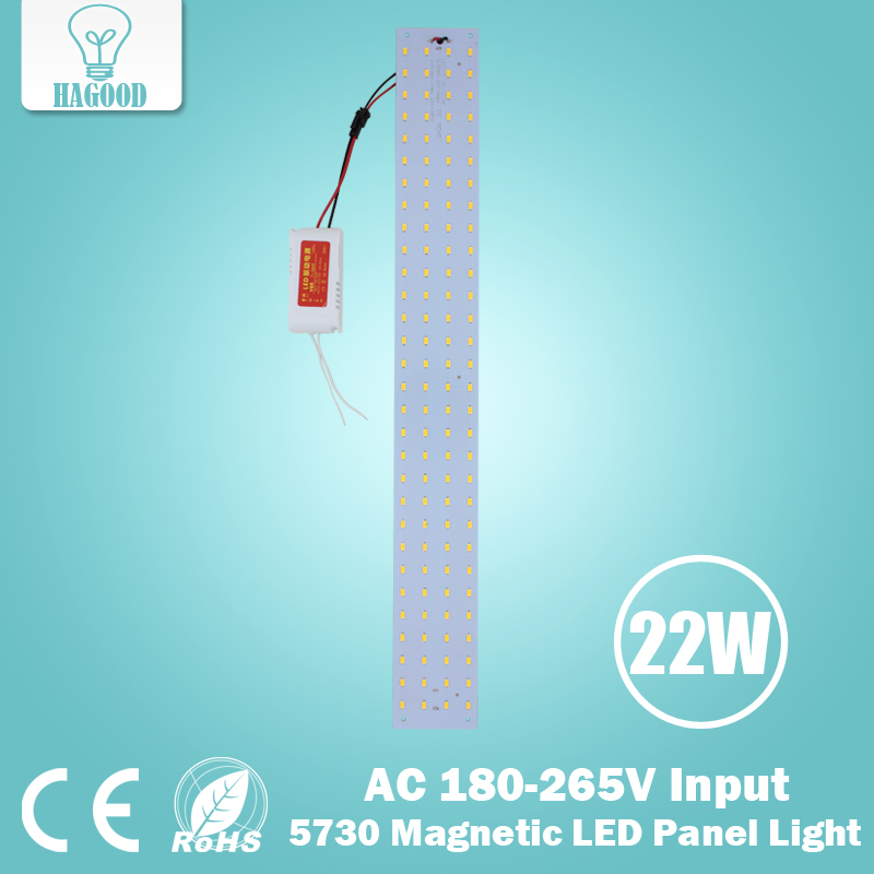 180-265V Magnetic 21W Rectangular LED Energy-saving Lamp,LED Ceiling Light Reconstruction Lamp Panel Lamp Panel Long Strip<br><br>Aliexpress