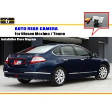 For Nissan Maxima / Teana - Reverse Back Up Camera / Parking Camera / HD CCD RCA NTST PAL / License Plate Light OEM