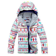 High Quality woman Snow Jacket Snowboarding Clothing Outdoor Sports skiing jacket Waterproof Warm Costume winter snow Ski cost