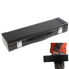 Portable Lightweight Flute Case Leahter Box Gig Bag with Carry Handle Woodwind Musical Instruments Parts & Accessories