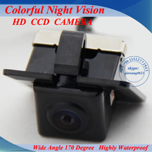 Special Originated Car Rear View Camera for Toyota Prado 2011 with 170 degree Waterproof Lens and 1/4 CCD Sensor