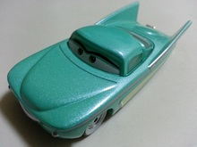Pixar Cars Flo Metal Diecast Toy Car 1:55 Loose Brand New In Stock & Free Shipping
