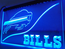 LD497- Buffalo Bills LED Neon Light Sign home decor crafts(China)