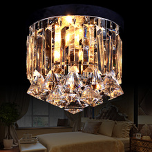 Crystal led modern brief art deco antique chinese style ceiling lamp light fixtures bedroom(China)
