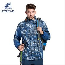 xxxxl Winter Sport Jacket Hooded warm Coral velvet liner+coat outdoor Jacket Men hunting clothes Camouflage Waterproof jacket 01(China)