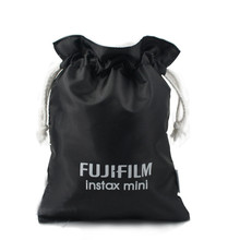 Light Portable Black Camera Bag Small Storage bag For Fuji Fujifilm Instax Mini 7 7s 8 25 50s 90 Film Instant #OR56