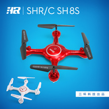 SH8s 28 * 28 * 11 cm remote control aircraft aerial camera wifi real-time transmission four-axis aircraft RC airplanes(China)