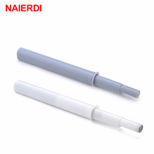 NAIERDI Kitchen Hidden Cabinet Catches Magnetic Door Stopper Damper Buffer Drawer Soft Quiet Close For Door Furniture Hardware
