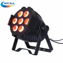 7x10W led par light RGBW 4IN1 LED PAR64 LED stage Lights led can lights for stage party wedding events(China)