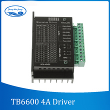 TB6600 stepper motor Driver Controller 4A 9~42V TTL 16 Micro-Step CNC 1 Axis NEW upgraded version of the 42/57/86 stepper motor(China)