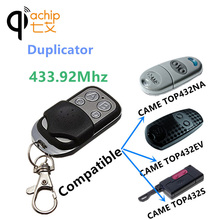 433 Duplicator Copy 433.92 Mhz CAME remote control TOP432EV TOP432NA TOP432S With Battery For Universal Garage Door Gate Key Fob(China)