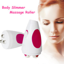 Body Face Slimmer Messager 3D Infrared Electric Handhold Weight Loss Fat Burner Anti Cellulite Massager Roller Machine Skin Care