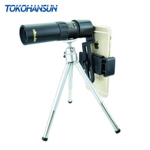 TOKOHANSUN 10-30x25 Zoom Phone Telescope Mobile Lens Tripod Telephoto Camera Lens Clip IPhone 7 Lens Smartphone Lenses