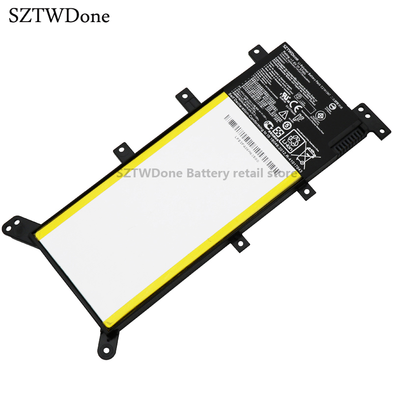 SZTWDone new C21N1347 Laptop Battery for ASUS X555 X555LA X555LD X555LN A555L F555L F555LD F555 W519L X554L X554LA<br>