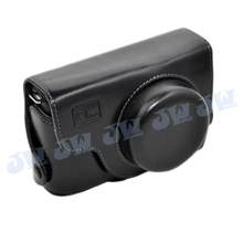 Free Shipping O.N.E Professional PU LEATHER CAMERA BAG POUCH CASE BODY JACKET FOR SAMSUNG TL500 EX1 BLACK Brand NEW(China)