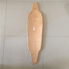 Wholesale OEM Blank Skateboard Deck Maple 39 3/8 Longboard Flat-Plate Deck DIY Patterns Decks 8 Layers(China)