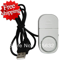 Improved version loud Computer Laptop Notebook PC USB Power Anti Theft Alarm Security Systerm Device