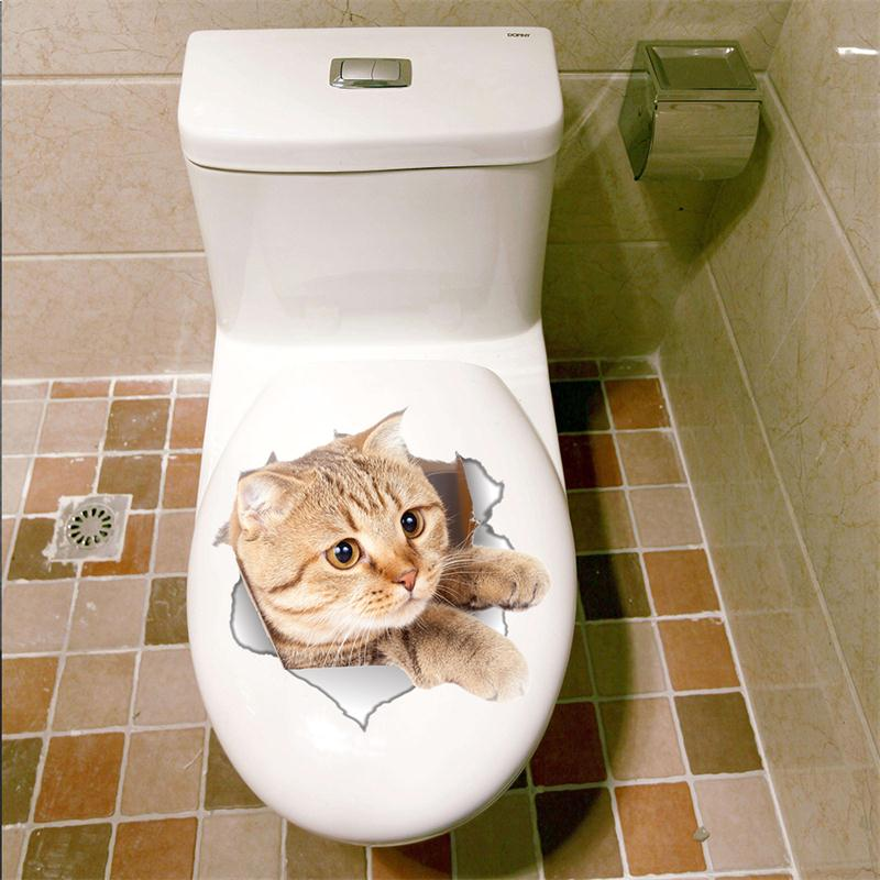 Cat Vivid 3D Smashed Switch Wall Sticker Bathroom Toilet Kicthen Decorative Decals Funny Animals Decor Poster PVC Mural Art Cat Vivid 3D Smashed Switch Wall Sticker Bathroom Toilet Kicthen Decorative Decals Funny Animals Decor Poster PVC Mural Art HTB1YcZFQpXXXXaYXXXXq6xXFXXXL