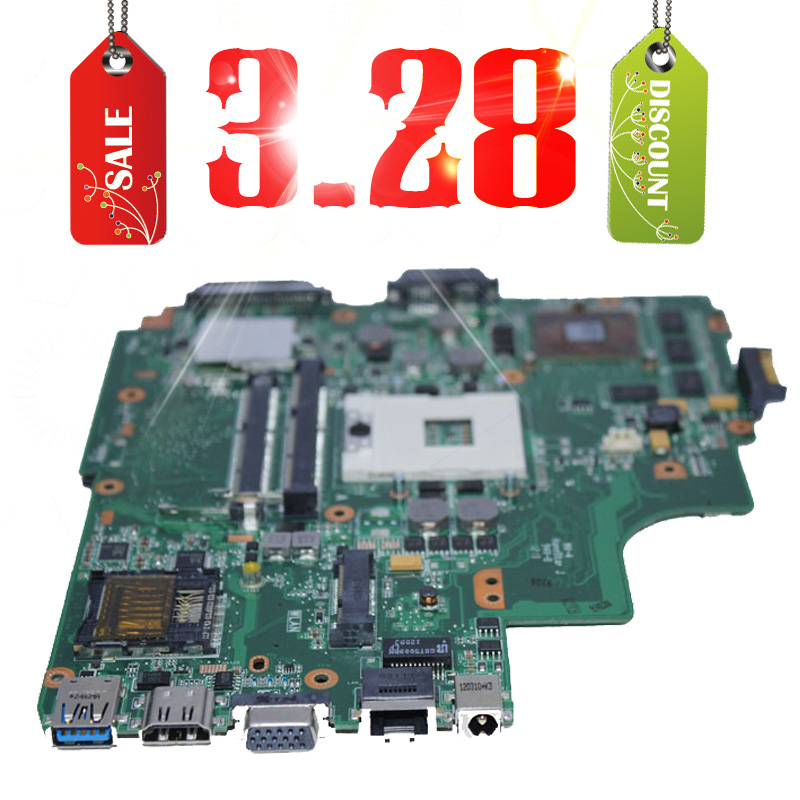 K43SV laptop motherboard for ASUS K43SJ,K43SV,A43S,X43S,K43SM REV4.1 system board 8 memory 1GB(China (Mainland))