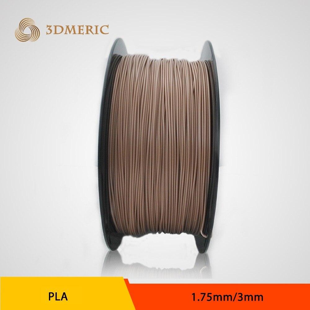 For markerbot/RepRap/UP/Medel 3mm Gold PLA  imprimante 3D Printer filament-1kg Spool<br><br>Aliexpress