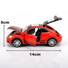 Alloy Car Model, 1:32 Model W/ light and Music 4 Doors/ Nice Printing Pull Back And Return Free Shipping(China)