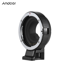 Andoer EF-MF Electronic Lens Mount Adapter Ring Auto Exposure for EF/EF-S lens to M4/3 camera for Canon-M5 for Panasonic LUMIX