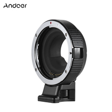 Andoer EF-MF Electronic Lens Mount Adapter Ring Auto Exposure for EF/EF-S lens to M4/3 camera for Canon-M5 for Panasonic LUMIX(China)
