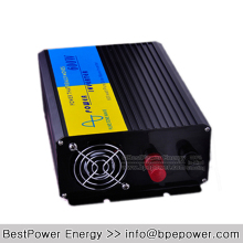 600W Pure Sine Wave Power Inverter DC12V/24V/48V Input, AC110V/220V Output Off Grid Solar Wind Inverter Converter