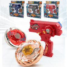 3 Colors Classic Toys Spinning Top Beyblade Set Double Launcher Arena Metal Fight Battle Fusion With Original Box For Kid GiftF4(China)