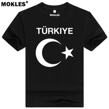TURKEY t shirt diy free custom made name number tur T-Shirt nation flag tr turkish republic turk country college print clothing(China)