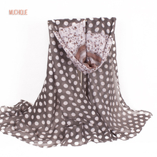 Muchique Women Printed Scarf Dog Cute Oversized Big Scarves Style Wraps Ladies Shawl