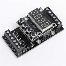 FX1N_10MT PLC Industrial Controller Board LED Display Delay Module Digital Tube 10V-24V DC(China)