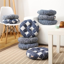 Japanese style big size  thicken 49cm round shaped  tatami seat mat, ,  meditation cushion,  Home decoration Pillow seat cushion