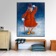 Large size Printing Oil Painting ebenezer goose Wall painting Wall Art Decoration Picture For Living Room painting No Frame