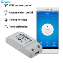 sonoff dc220v Remote Control Wifi Switch Smart Home automation/ Intelligent WiFi Center for APP Smart Home Controls 10A/2200W