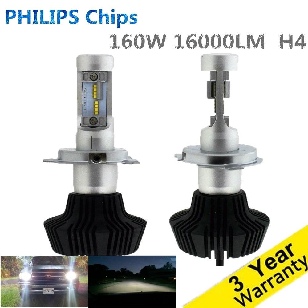 Super Bright H4 Car Headlights H7 LED H8/H11 HB3/9005 HB4/9006 50W 8000lm Auto Front Bulb Automobile Headlamp 6000K Car Lighting<br><br>Aliexpress