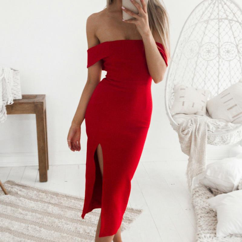Detail Feedback Questions about 2018 Spring Off Shoulder Bodycon ... 33ca4193f9ac