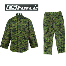 Airsoft Military Canada Digital Camo Tactical Special Force Uniform Shirt and Pants Outdoor Sports Army Paintball BDU Uniform