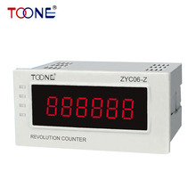 ZYC06-Z Digital tachometer digital LED display counter for minutes and seconds speed and motor speed