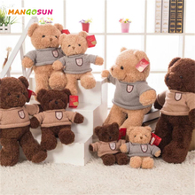 Kids Teddy Bear Stuffed Dolls High Qulity Sweater Bear Doll Soft Birthday Gift 30cm 40cm 55cm
