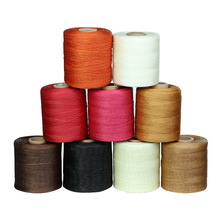 50meters/roll 1.5mm width leather thread for DIY Leather Products Nylon Sewing Thread Waxed Thread Cotton Cord F599