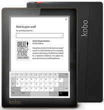 Nice Kobo Aura ereader eink touch screen 6 inch eBook built in Light 1024x768 4GB WIFI eBook Reader