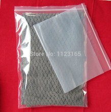 24x36cm,100pcs/lot Big Thick PE ziplock bag - clear self sealing plastic pouch with zipper gril seal packaging bag resealable