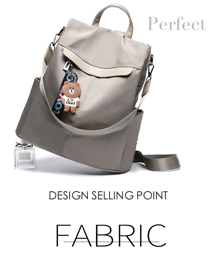 Large Capacity Backpack Women Preppy School Bags for Teenagers Female Oxford Travel Bags Girls Bear Pendant Backpack Mochilas 12 Online shopping Bangladesh