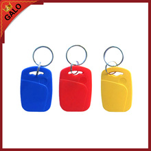 100pcs IC+ID UID Rewritable Composite Key Tags Keyfob Dual Chip Frequency RFID 125KHZ T5577 EM4305+13.56MHZ Changeable Writable(China)