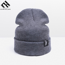 2017 New Winter Hats For Women Hats Men Skullies Beanies Women's Cap Warm Knitted Hat Female Fashion Headgear Wholesale/Retail(China)