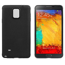 Besegad Honeycomb Mesh Style TPU Case Cover Skin Shell for Samsung Galaxy Note 4 Note4 IV N9106 N 9106 coque fundas capa(China)